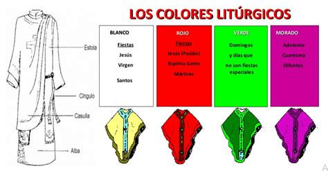 colores del ano liturgico colores del ano liturgico pictures to pin on pinterest