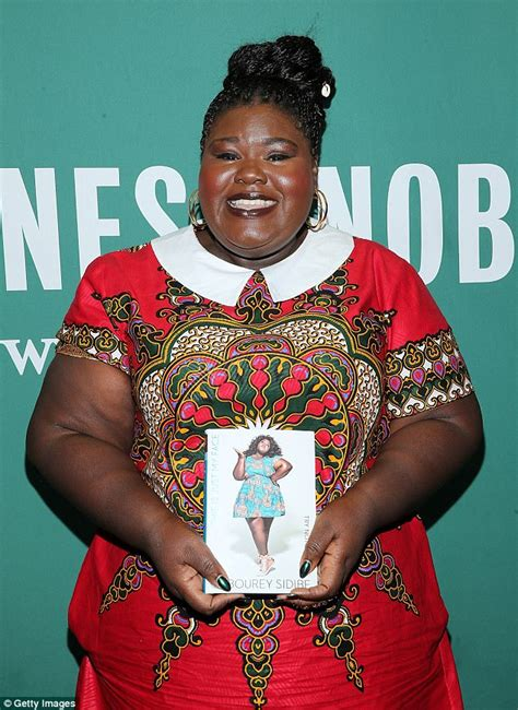 this is just my try not to stare books gabourey sidibe wraps troubled past in