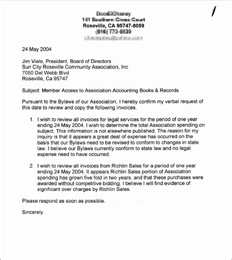 Response Letter To Hoa Sle Letter To Homeowners Association Best Letter Sle