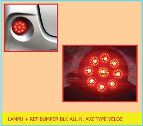 Lu Reflektor All New Avanza Veloz Bisa Nyala Jual Lu Reflektor Bumper Belakang Toyota All New