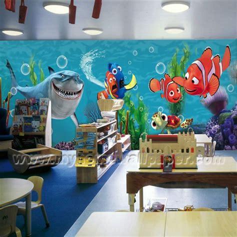 Nemo Wall Stickers l2 00140 camera bambini carta da parati murales carte da