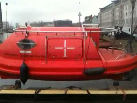 reddingsboot te koop te water laten van de reddingssloep youtube