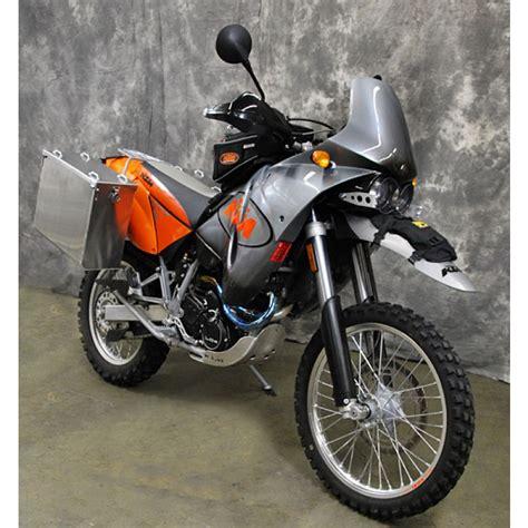 Ktm 640 Adventure R Aluminum Pannier Kit Teton Ktm 640 Adventure R 2000