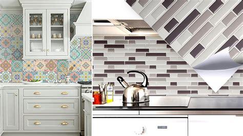 azulejos adhesivos  renovar la cocina blog hogarmania