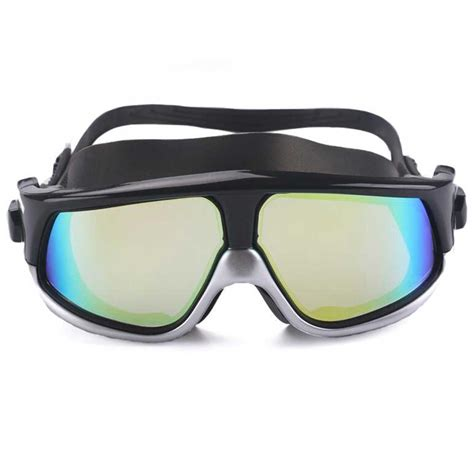 Kacamata Renang Ruihe Anti Fog T3010 1 kacamata renang large frame anti fog uv protection black silver jakartanotebook
