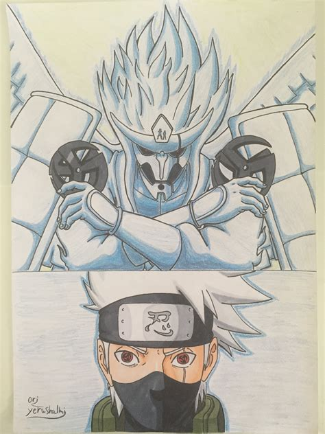 Drawing Kakashi by Drawing Kakashi Susanoo