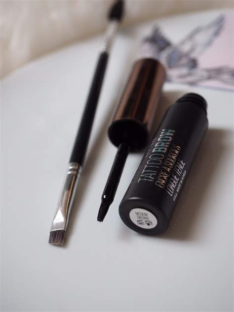 tattoo brow maybelline review boots maybelline tattoo brow easy peel off tint review