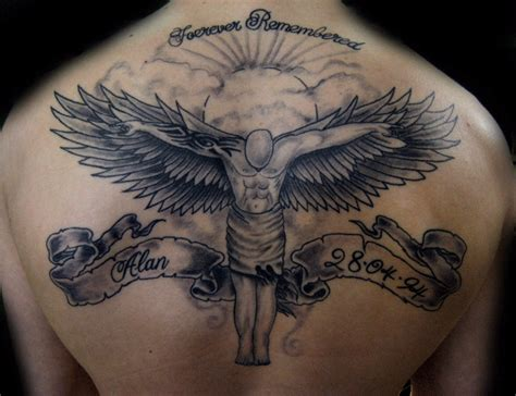angel tattoo designs and their meaning celebrity tattoos