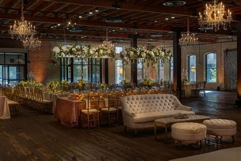 Most Beautiful Industrial Wedding Venues: Brazos Hall by