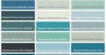 benjamin most popular greens coastal paint colors by benjamin moore coastal home decor pinterest coastal paint colors