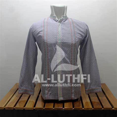 Baju Koko Al Luthfi Bm Al 26 baju koko al luthfi tangan panjang al 046 al luthfi