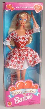 china doll valentines day mattel annual valentines at replacements ltd