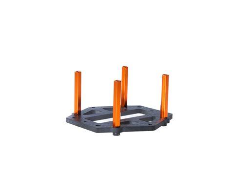 Hqprop M3 Hex Standoffs 35mm 4pcs m3 x 35mm aluminum hex standoff orange 4pcs aerialpixels
