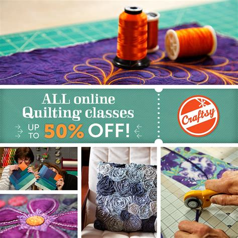 Quilting Classes Ma by The Free Motion Quilting Project Craftsy S Big Summer Sale