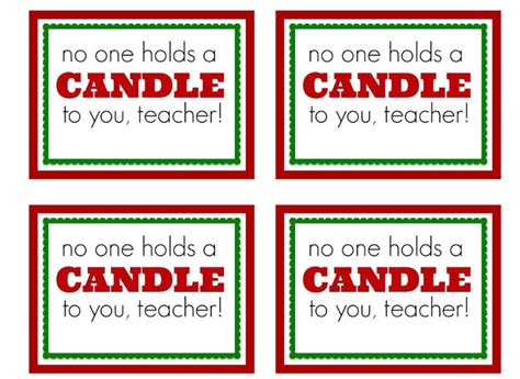 printable christmas gift tags for teachers free printable teacher gift tag free printables pinterest