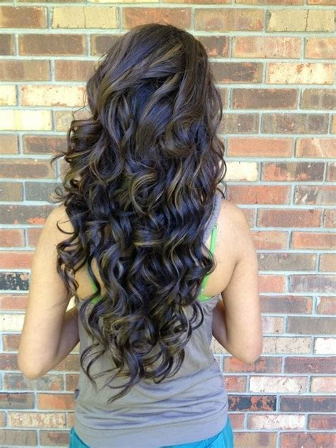 permed layered hairstyles for long hair 20 pretty permed hairstyles pop perms looks you can try