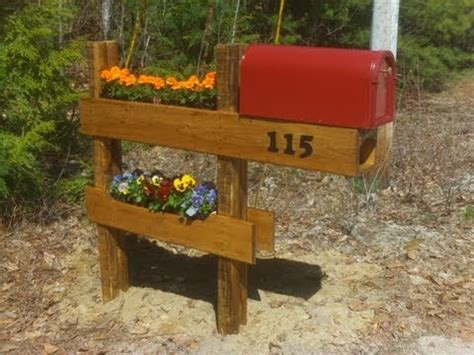 How To Build A Mailbox Planter Easy And Fun Best Mailbox With Planter