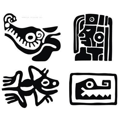 imagenes de letras aztecas tatuajes mayas tendenzias com