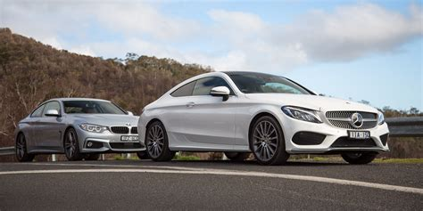 bmw c300 2016 mercedes c300 coupe v bmw 430i comparison