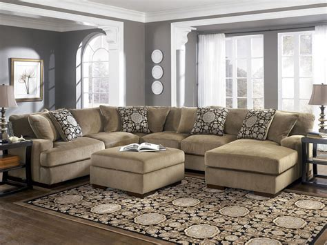 5 Seat Sectional Sofa Popular Large Sectional Sofa With Ottoman 36 For Your 5 Seat Sectional Sofa With Large Sectional