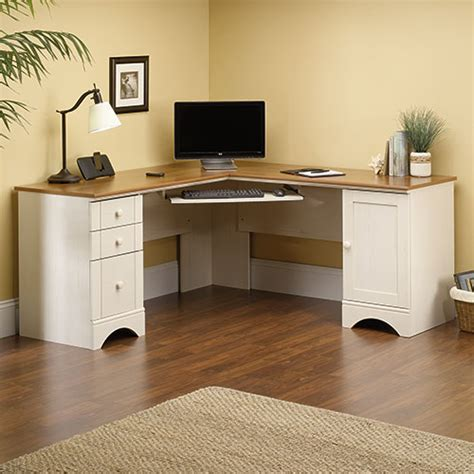 Sauder Harbor View Corner Computer Desk Sauder Harbor View Corner Computer Desk White Boscov S