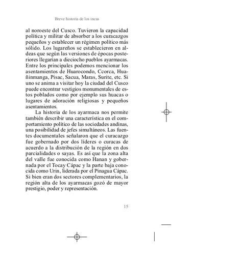 breve historia de los 8499676561 quot breve historia de los incas quot