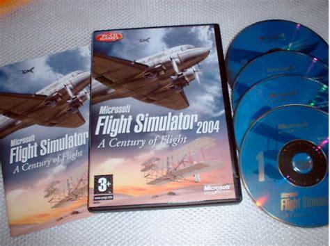 Cd Microsoft Flight Simulator X microsoft flight simulator 2004 simulator information