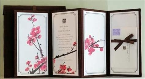Wedding Invitation Card Japanese Style by Japanese Wedding Invitation Card Weddings
