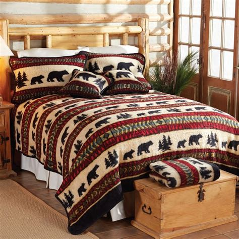 Fleece Bed Sets Cedar Run Fleece Bed Sets