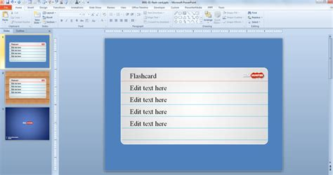 flash card maker from powerpoint free flash powerpoint presentation templates tpmonline
