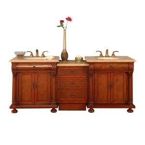 Lowes Vanity Tops Only Shop Silkroad Exclusive Emily Chestnut Undermount