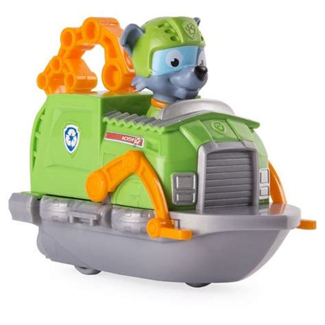 large paw patrol boat paw patrol rescue racers rocky 226 s boat toy vehicle