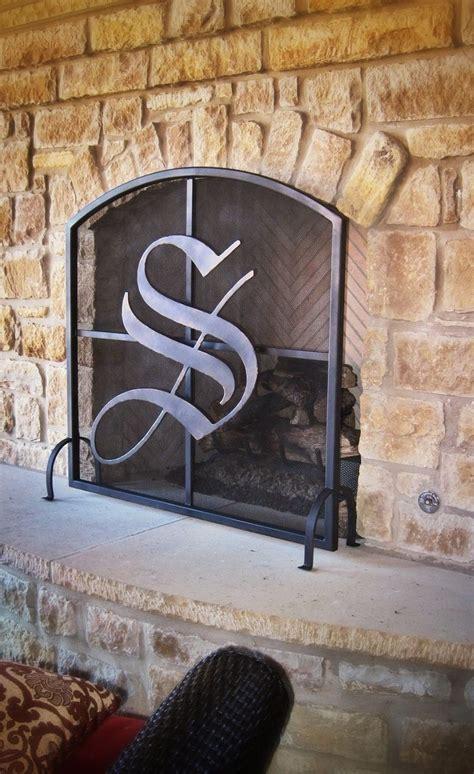 custom metal fireplace screen by omar garza custommade