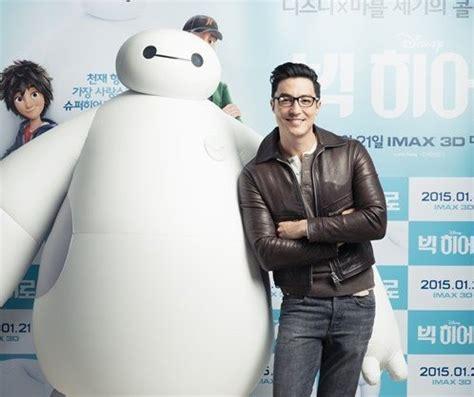 film giant korean daniel henney talks about dubbing for movie big hero 6