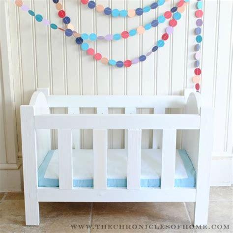 baby doll crib plans diy doll crib the chronicles of home