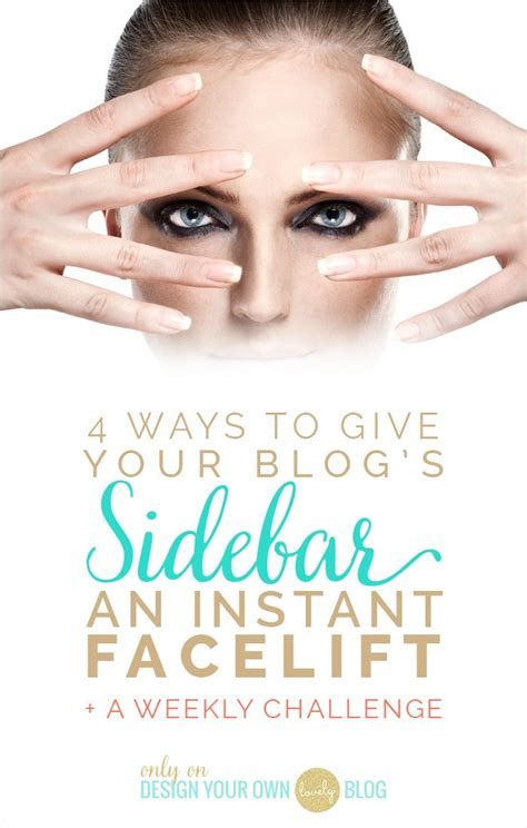 4 ways to give your blog s sidebar an instant facelift
