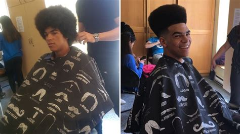 barber downtown kitchener toronto barber gives free haircuts to street youth at