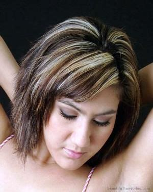 what is most flattering hair couler on woman in her forties like this but longer hairstyles for plus size women