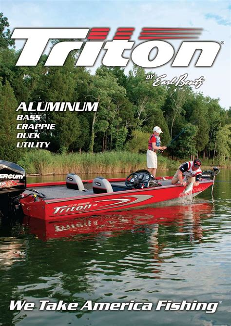 triton boats catalog 2014 triton boats aluminum catalog by triton boats issuu