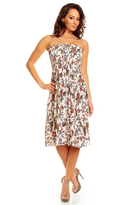 8 Sweet Summer Dresses For Day Or by Floral Pattern Print Summer Midi Knee