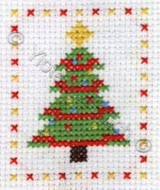 christmas tree free cross stitch pattern yiotas xstitch