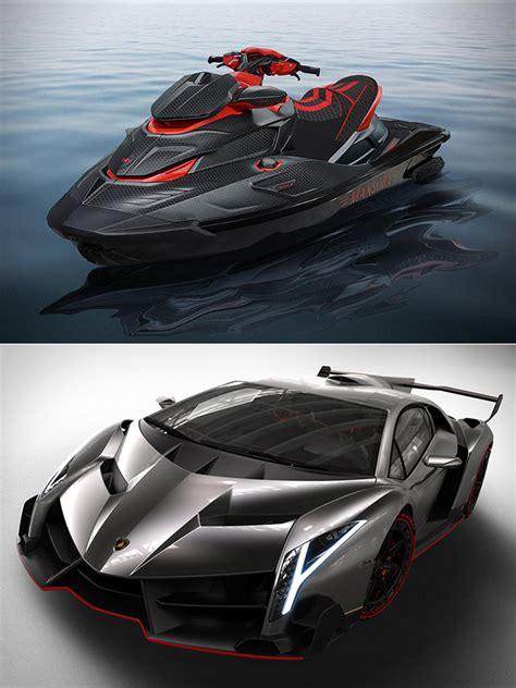 lamborghini jet ski mansory s black marlin 550 luxury shows what the