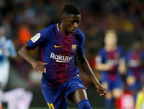 barcelona dembele dembele named to barcelona s starting lineup for first