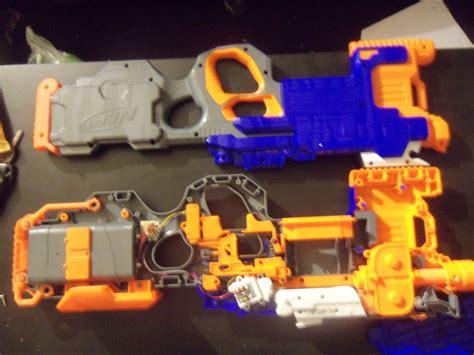 Nerf Hyperfire Orange Trigger nerf hyperfire complete teardown review and
