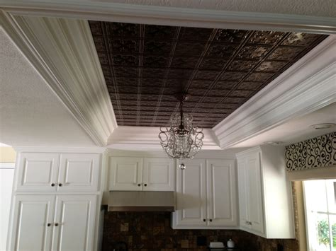 Kitchen Ceiling Tiles And Hanging Light Replace Dated Fluorescent Lights For Kitchens Ceilings