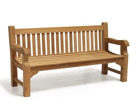 street benches balmoral park bench 6ft teak street bench 1 8m
