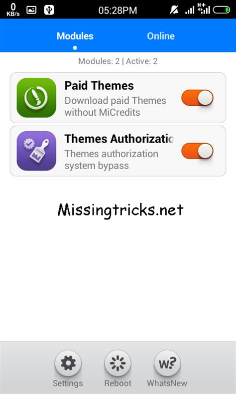 mi themes wsm wsm tools cannot download modules