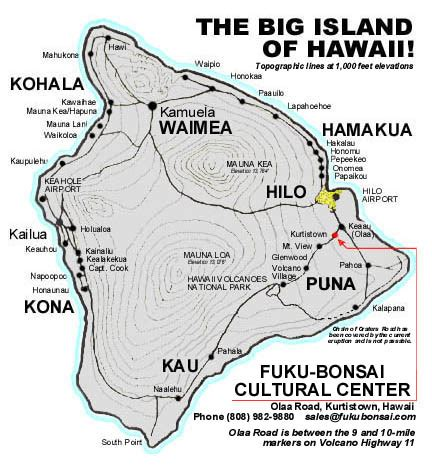 printable road map big island hawaii big island map authorized retailers