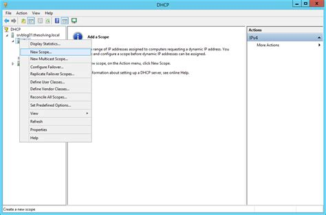 Configure L Server by Configure A Multiscope Dhcp Server To Work With Vlans On