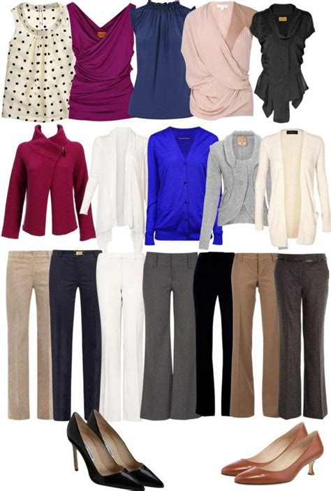 business casual essentials mix match style